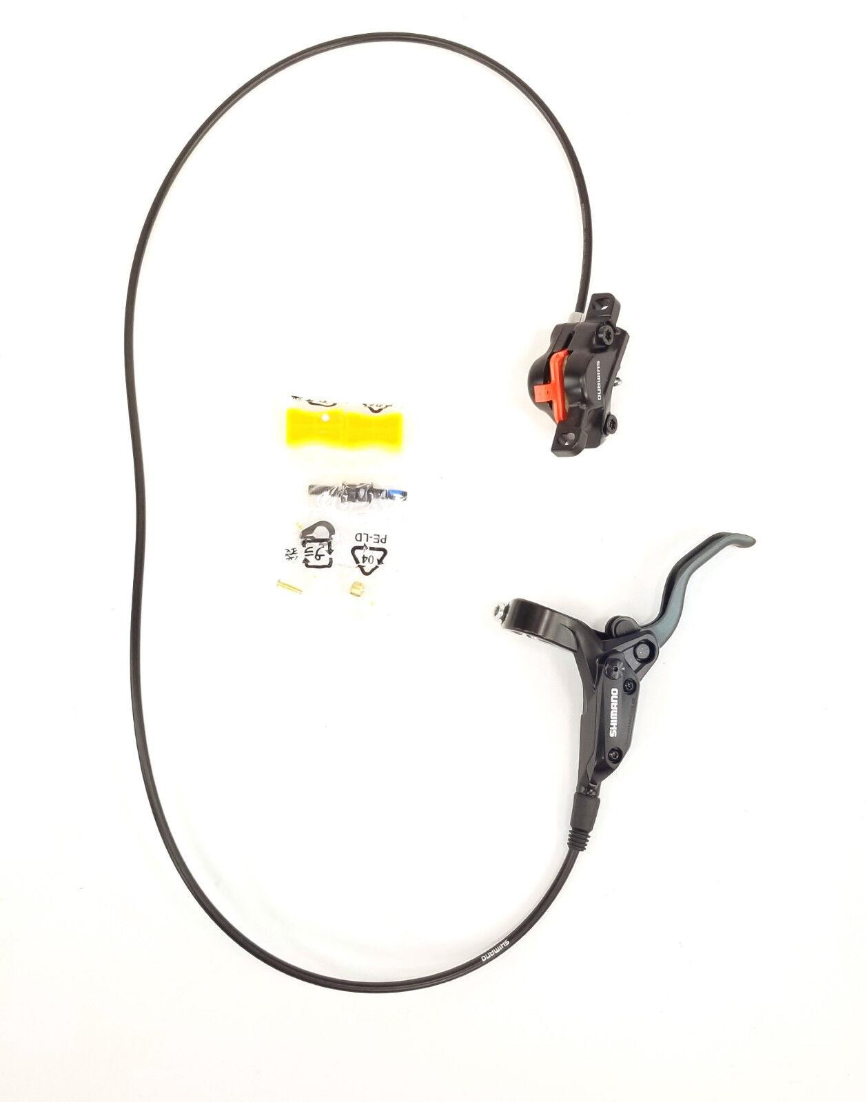 SHIMANO ALTUS  BL-M425, BR-M395 PRE-BLED FRONT DISC BRAKE, RESIN PAD, 1000mm HOSE  for sale online