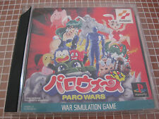 PSX PS1 PARO WAR JAP COMPLETE PLAYSTATION KONAMI