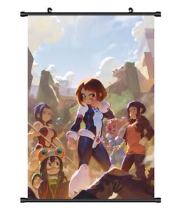 "Hot Anime Boku no Hero Academia Utsushimi Decor Poster Wall Scroll 8/""x12/"" P191"