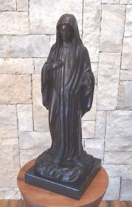 Beautiful-Large-Bronze-Of-Madonna