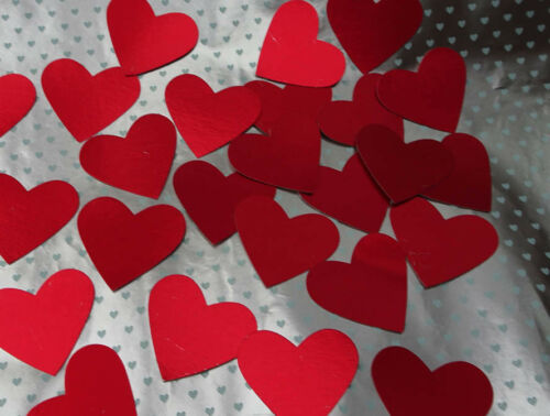 Valentines HEART packs 3 pack choices Red HEARTS of various sizes Good value!