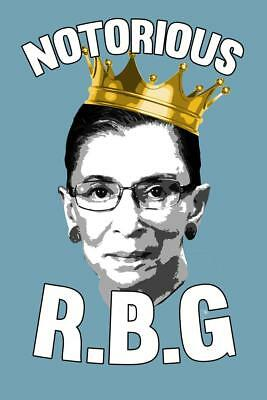 Notorious R.B.G. Funny Poster 24x36