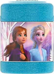 DISNEY-FROZEN-ELSA-Thermos-FUNtainer-Stainless-Steel-Insulated-10-oz-Food-Jar