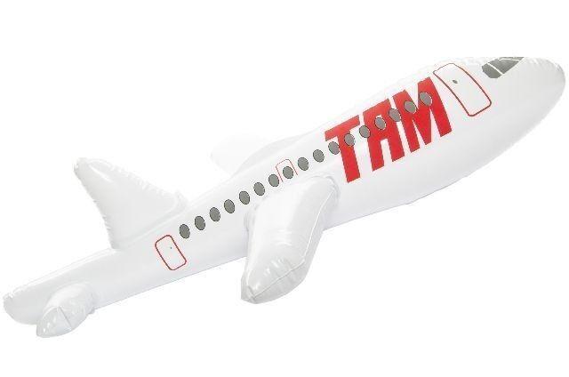 24x Flugzeug aufblasbar Spielzeug Flieger TAM aufblasbarer Deko Party Dekoration