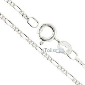 Figarokette-Silberkette-925-Sterling-Silber-Halskette-necklace-Amulett-sn3