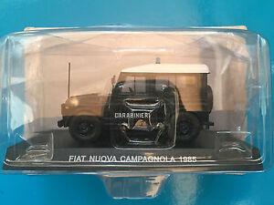 DIE-CAST-034-FIAT-NUOVA-CAMPAGNOLA-1985-034-SCALA-1-43-CARABINIERI