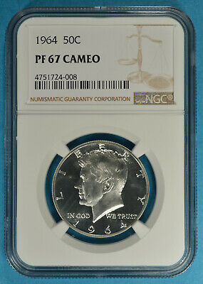 1972 S 50c Kennedy Half Dollar NGC PF 67 Star Cameo