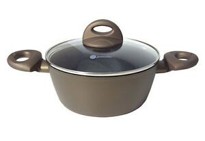 jomafe jupiter 28cm casserole with lid non stick heavy induction all hobs 5603680298238 ebay. Black Bedroom Furniture Sets. Home Design Ideas