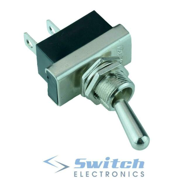 Off-(On) Momentary Toggle Flick Switch SPST 12V 25A