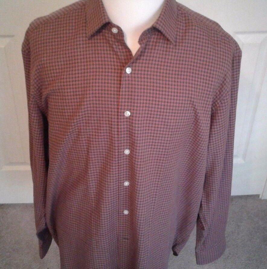 CULTURATA ROMA  Shirt  XL  18 46 ...100% Cotton  Made  IN