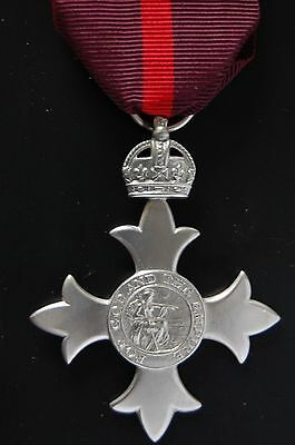 STERLING SILVER 1st ISSUE.  MBE, MEMBER OF THE BRITISH EMPIRE