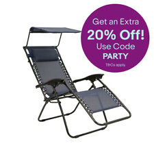 Mountain Warehouse Reclining Chair With Sun Shade Large Chair