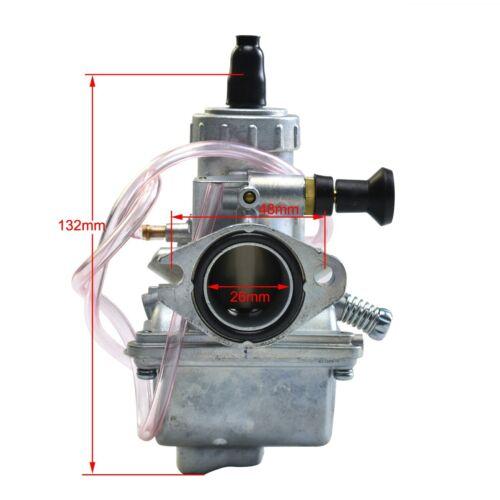 Molkt 26mm Racing Carburetor Air Filter 140cc 150cc 160cc for CRF XR BAJA TTR RM