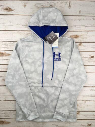 Mens Under Armour Hoodie UA Coldgear Storm Logo Pullover Sweatshirt S M L XL