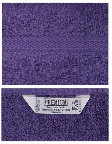 BETZ 10er Pack Laver Gants Premium Couleur Rouge Foncé /& Violet Taille 16x21 cm
