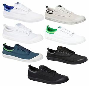 MENS-DUNLOP-VOLLEY-INTERNATIONAL-CANVAS-CASUAL-VOLLEYS-WHITE-BLUE-BLACK-SHOES