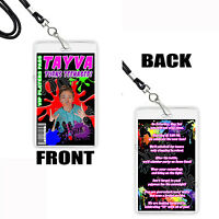 Paintball Birthday Party Vip Pass Favor Invitation Lanyard Necklaces 5 Pcs Splat