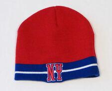 Colosseum Athletics Red White & Blue New York Adult Beanie Skull Cap NEW