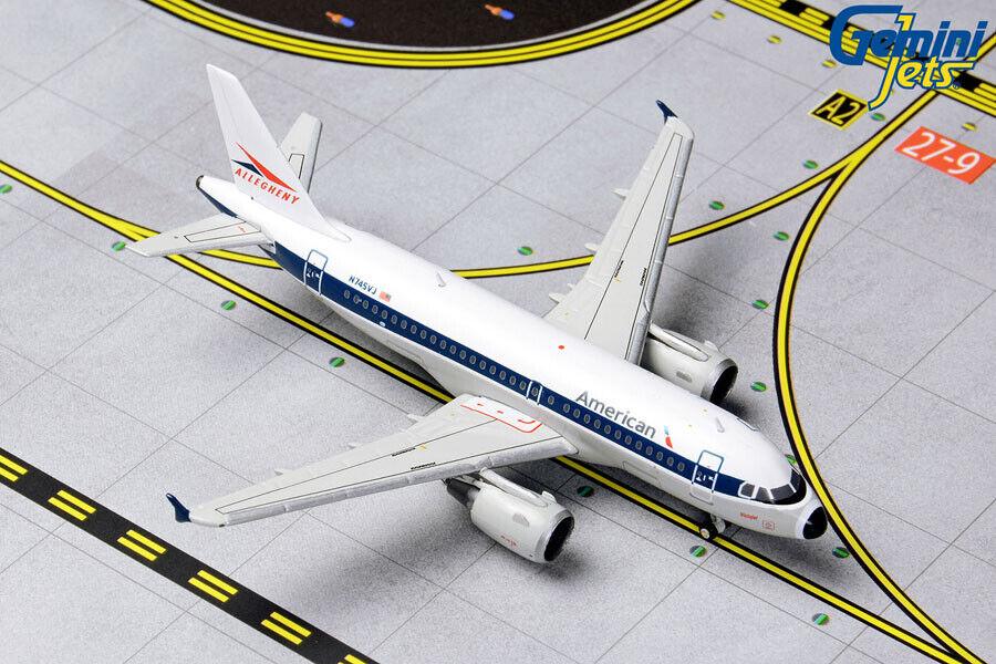 GEMINI GEMINI GEMINI JETS AMERICAN AIRLINES A319(S) RETRO ALLEGHENY 1 400  GJAAL1133 PRE-ORDER 5010c0