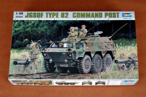 Trumpeter 1//35 JASDF Type 82 Command Communication Car Plastic Model Kit 00326