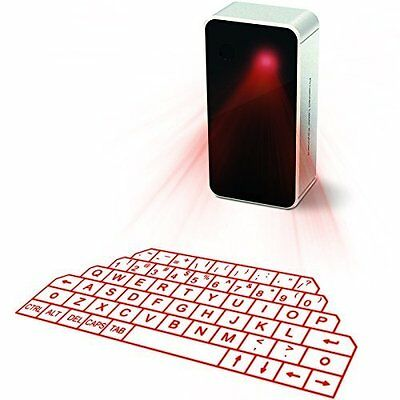 Wireless Bluetooth Laser Projection Virtual Keyboard Mouse For Smartphone Iphone