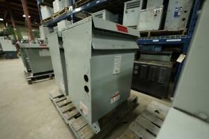 112.5 KVA 600V to 208V/120V Multi-Taps Isolation Transformer Canada Preview
