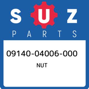 09140-04006-000-Suzuki-Nut-0914004006000-New-Genuine-OEM-Part