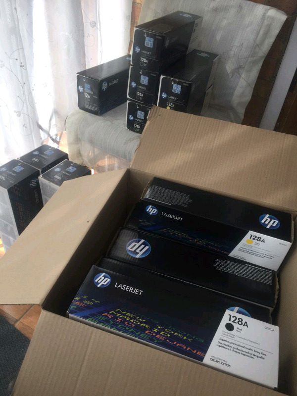 BUYER FOR NEW UNWANTED PRINTER CARTRIDGES.