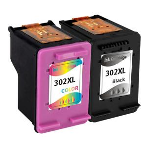 2x PATRONEN HP 302 XL OfficeJet 4654 3830 3834 4650 DeskJet 2130 3630 1110