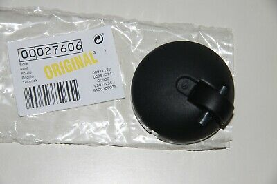 schwarz Ø 67mm Höhe Bosch Lenkrolle mit Stahlachse für Staubsauger 31mm
