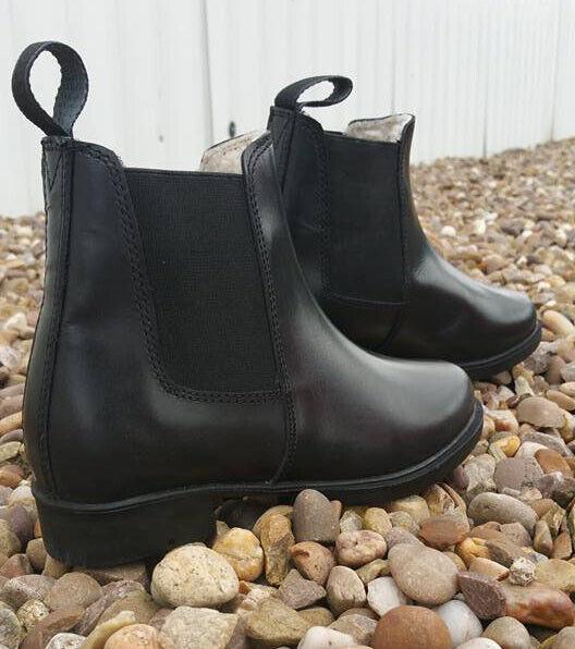 White Horse Ladies Glacier Jodhpur Boots