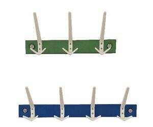 Appendiabiti-porta-giacche-da-parete-in-metallo-con-barra-colorata-e-ganci