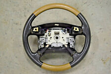 Land Rover Discovery 2 Steering Wheel Bahama Beige Tan Perforated Leather 99 02 Fits Land Rover Discovery