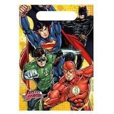 Justice League Rescue DC Superhero Kids Birthday Party Favor Bags Treat Sacks
