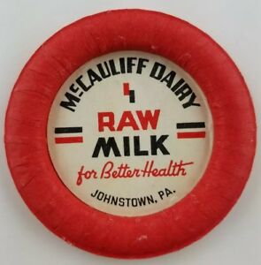 Vintage-Raw-Milk-Bottle-Cap-McCauliff-Dairy-Johnstown-Pennsylvania-a2-80