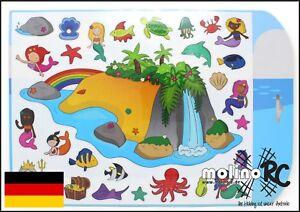stickabouts-Magical-Island-Sticker-wiederverwendbar-Stickeralbum-Fensterbilder