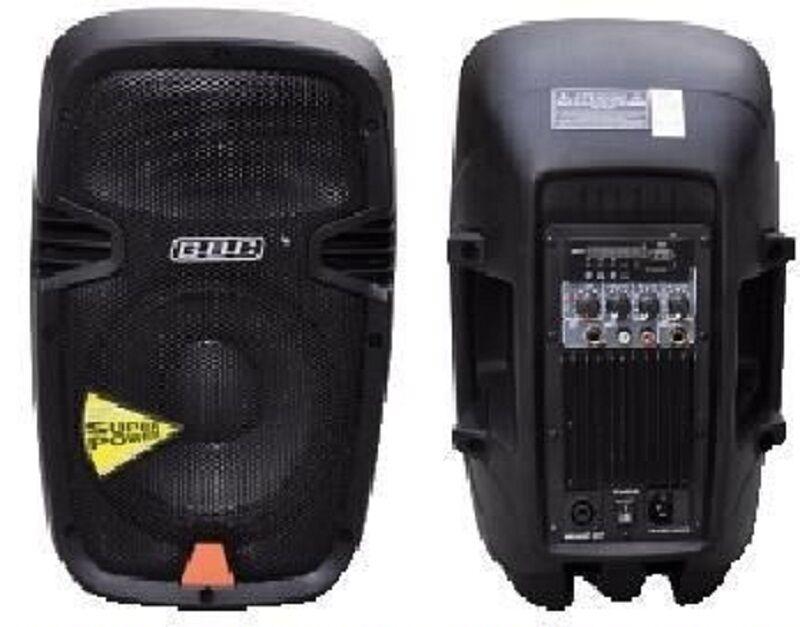 2 x Audio Box Professional Power Max 120w USB Mic Line in/out GBC 04161101