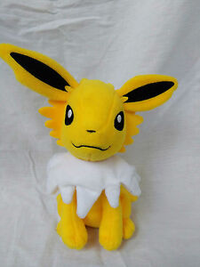 NEW-Original-Tomy-Pokemon-Jolteon-8-034-Plush-Doll-Toy