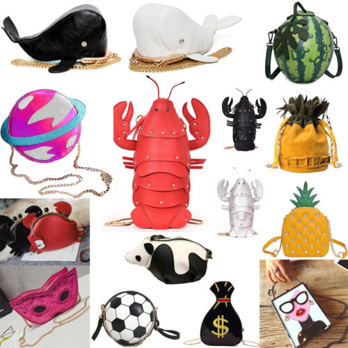 Womens Cartoon Animal Dollar Phone Handbag Cross Body Satchel Shoulder Totes Bag