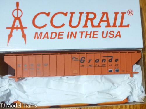 Rd #15734 Accurail HO #6504 D/&RGW P-S 4750 Covered Grain Hopper Kit