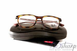 06bfbefe22 Image is loading Ray-Ban-Eyeglasses-RB-7078-2012-SHINY-HAVANA