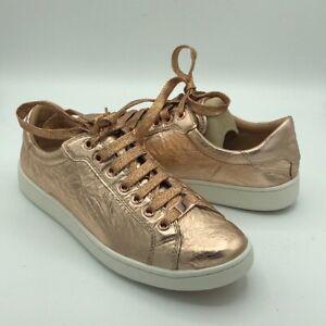 UGG Milo Rose Gold Leather Fashion