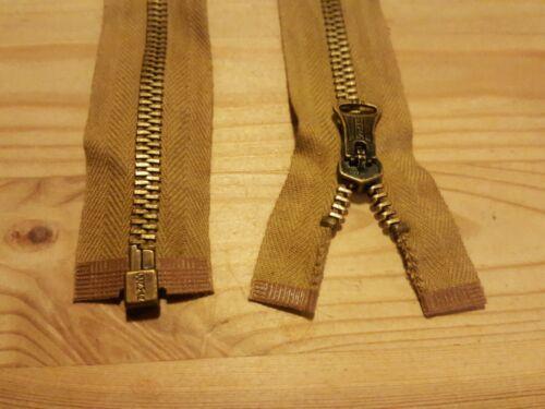 """Gratuit P /& P ** 1 × 24/"""" pouces CONMAR USA Style Vintage repro antique Metal Jacket Zip"""