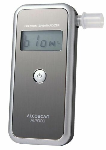 50 MPC UK Seller AL7000 Premium Breathalyzer Ideal Scottish Breathalyser