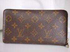 Louis Vuitton Monogram Porte Monnaie Zip M61727 Purse