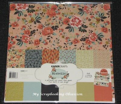 "Kaisercraft 'blubelle' 12x12"" Paper Pk + Stickers Kaiser Floral Special Price Handig Om Te Koken"