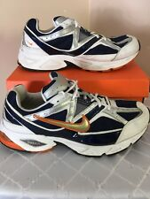 NiKE-AiR N' SiGHT RUNNiNG SHOES White /Orange MEN'S 13