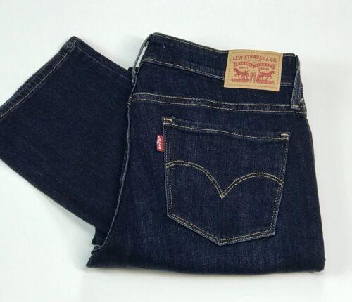 Straight Jeans Levi's Ladies Blue 714 Fit wptpqAr