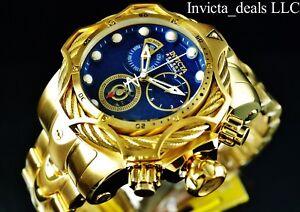 Invicta-Reserve-Mens-52mm-Venom-Bolt-Swiss-ETA-Chronograph-18K-Gold-Plated-Watch