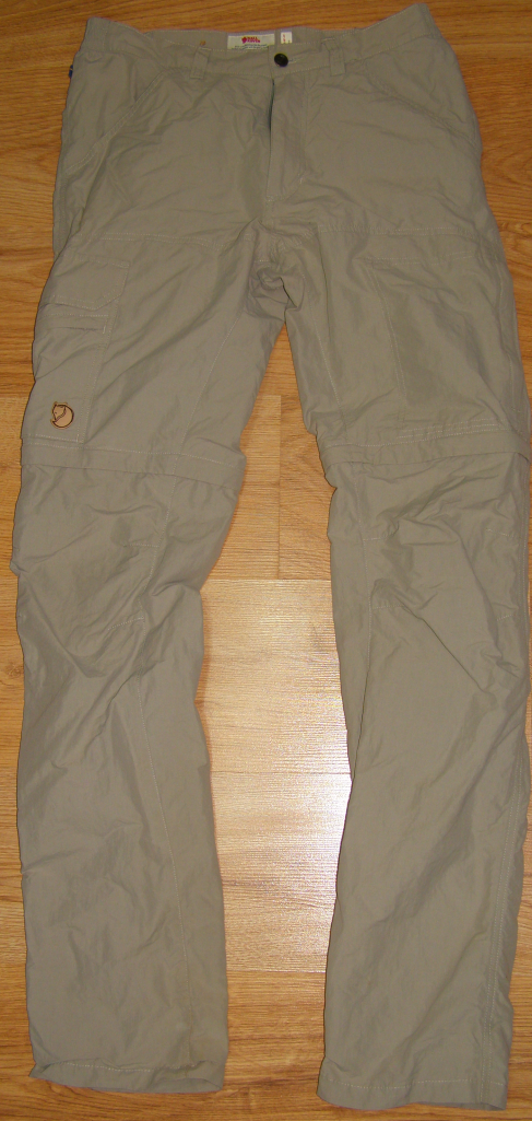 Fjall Raven Trousers  Hose - Size 46  Cape Point MT 82835 Zip Off Trousers 2in1
